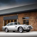 James Bond Aston Martin DB5 Offered