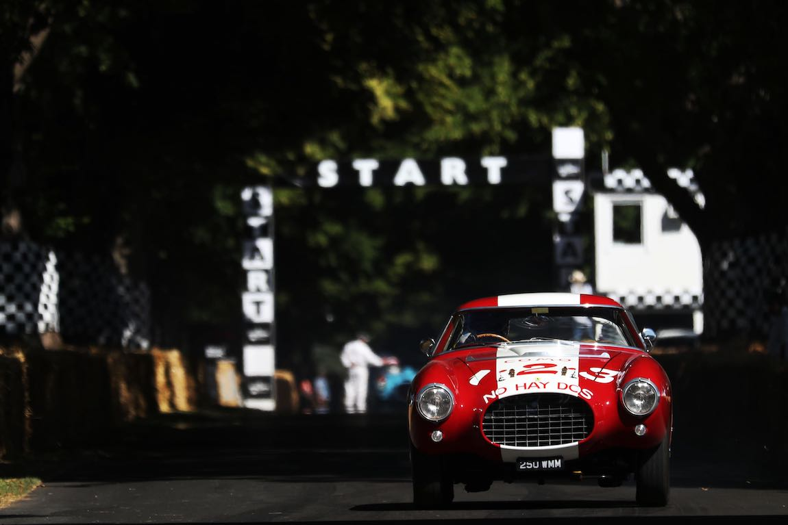 Ex-Carrera Panamericana, 1953 Ferrari 250 MM now owned by Nick Mason