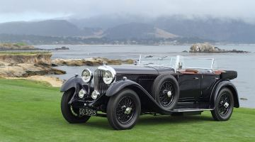 1931 Bentley 8 Litre Gurney Nutting Sports Tourer Pebble Beach Concours