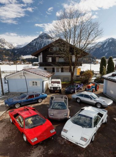Lamborghini Collection (photo: Peter Singhof)