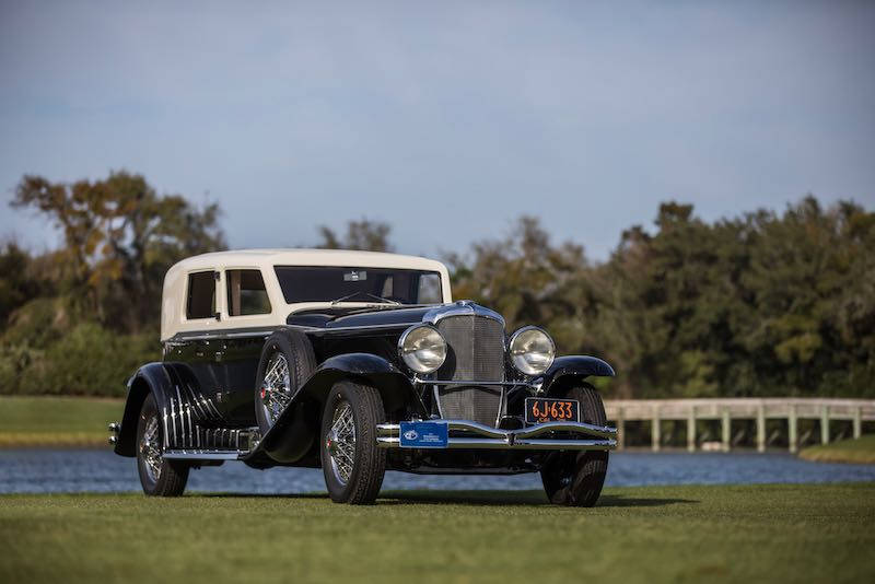 Best of Show Concours d'Elegance - 1929 Duesenberg J-218 'Whittell' Limousine
