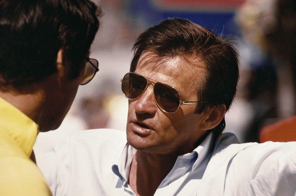 Hans Mezger at Kyalami Race (South Africa), 1983