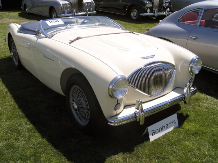 1956 Austin-Healey 100/4 Roadster