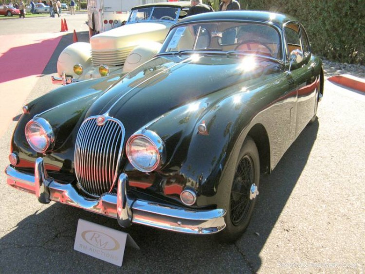 1958 Jaguar XK 150 Fixed-Head Coupe
