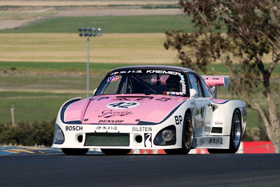 Ranson Webster's 1976 Porsche 935 K3 in two.