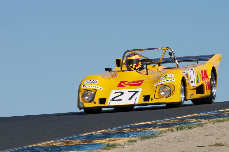 Keith Frieser's Lola T290 over three.