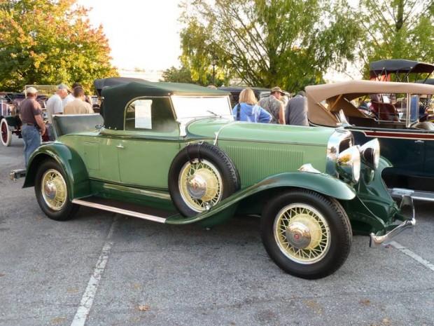 1931 Studebaker President Eight Four-Seasons Roadster