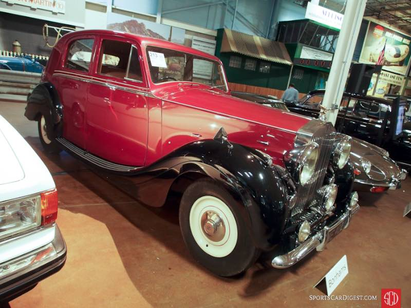 1950 Rolls-Royce Silver Wraith Touring Saloon, Body by Park Ward