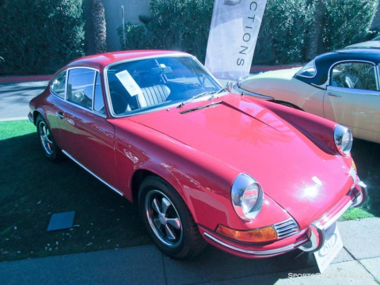 1969 Porsche 911T Coupe, Body by Karmann