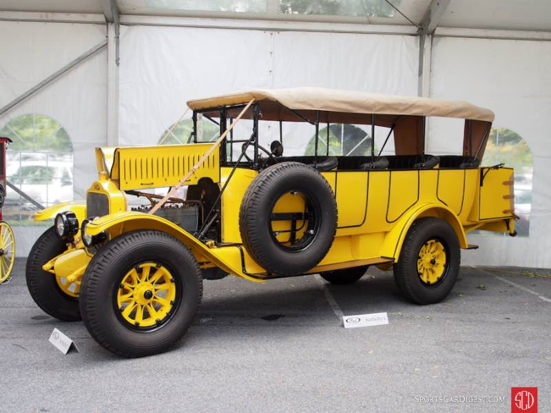 1925 White Model 15-45 Yellowstone Park Tour Bus, Body by Bender