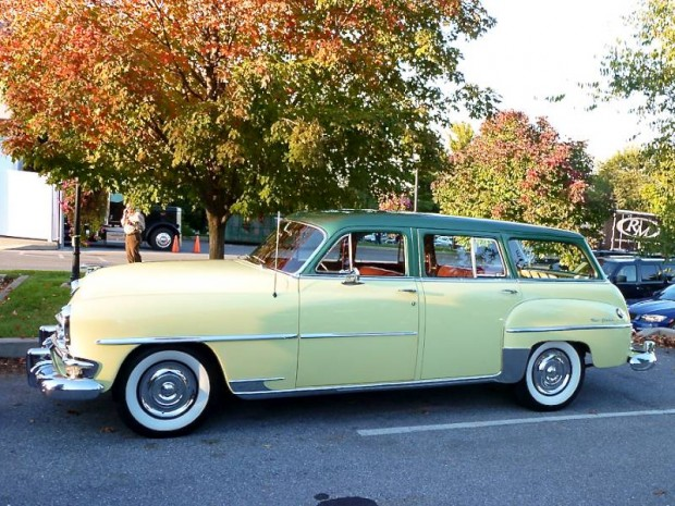 1954 Chrysler New Yorker Town and Country Station Wagon