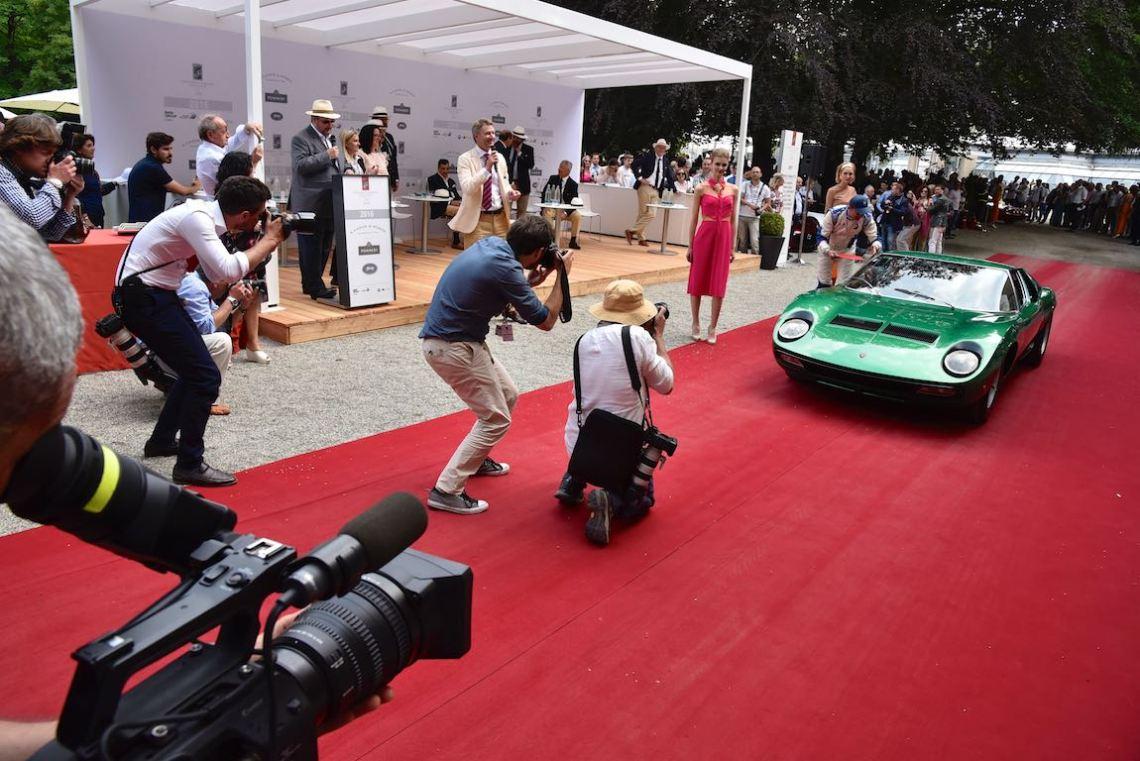 Very popular 1971 Lamborghini P400 Miura SV