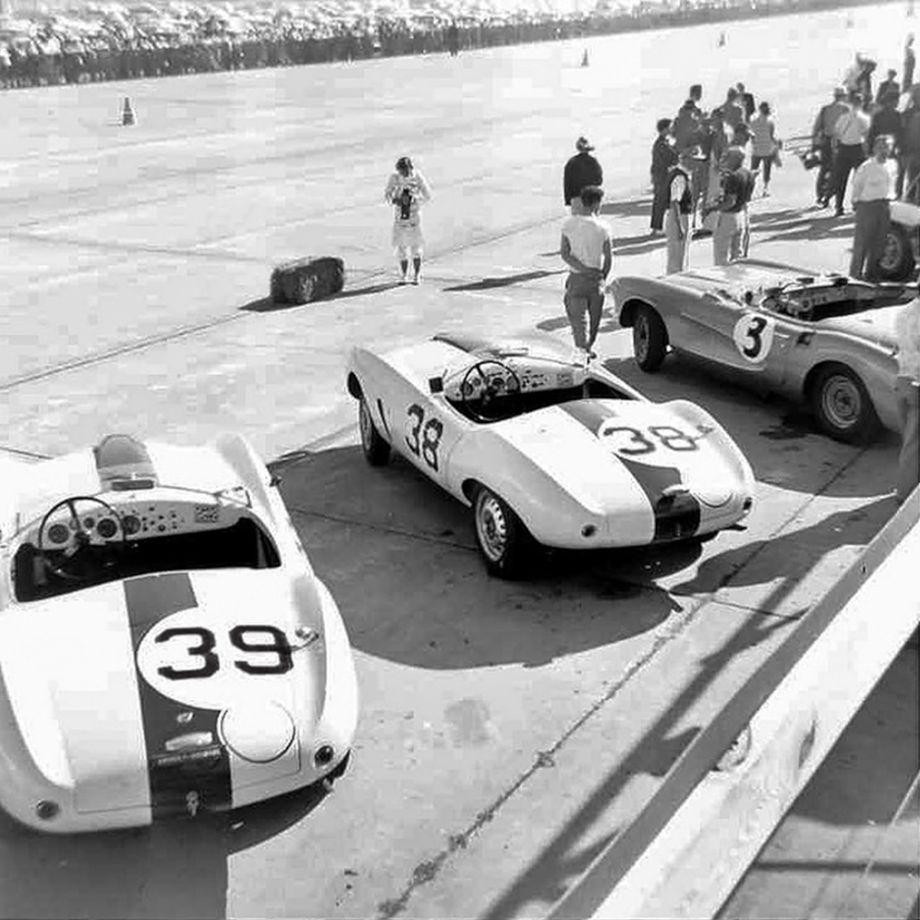 1956 Sebring 12 Hours Grand Prix Race Photos History