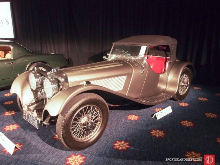 1938 SS Jaguar 100 Roadster