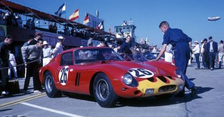 Ferrari 250 GTO at 1963 Sebring 12 Hours