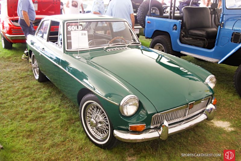 1968 MG B GT Coupe