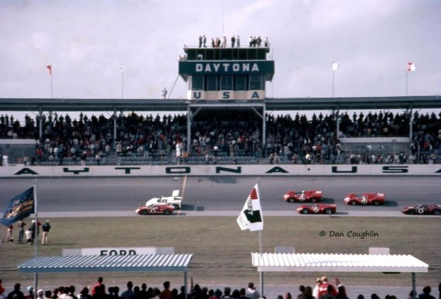 Start of 1967 Daytona 24 Hours