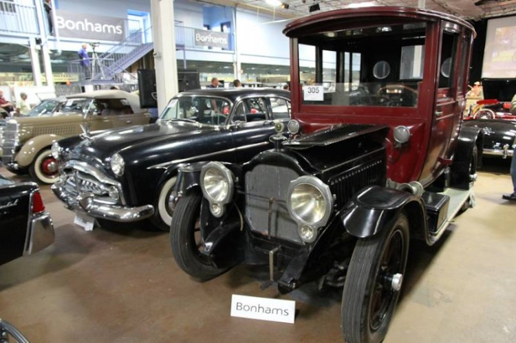 1917 Packard 2-25 Twin-Six Rear Entry Brougham, Body by Chauncey Thomas & Co.