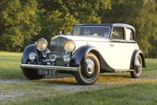 1935 Bentley 3 1/2-Litre Sports Saloon (photo: Pawel Litwinski)