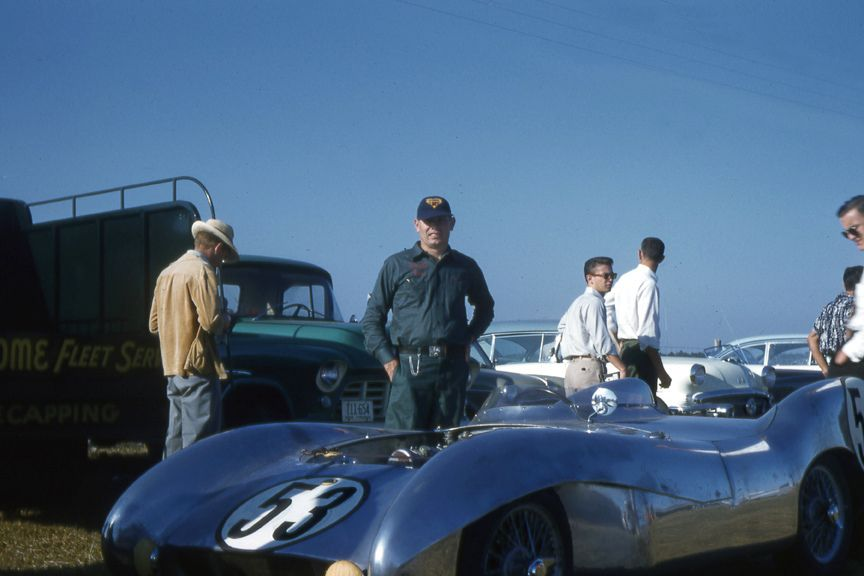 Lotus Eleven at Sebring 12 Hours 1956
