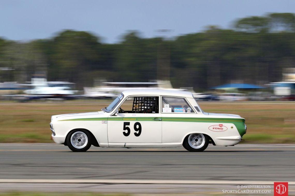 Don Heth's 1966 Ford Lotus Cortina
