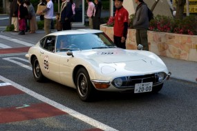 Toyota 2000GT at Rally Nippon 2010