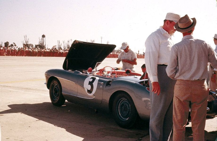 Chevrolet Corvette at Sebring 12 Hours 1956