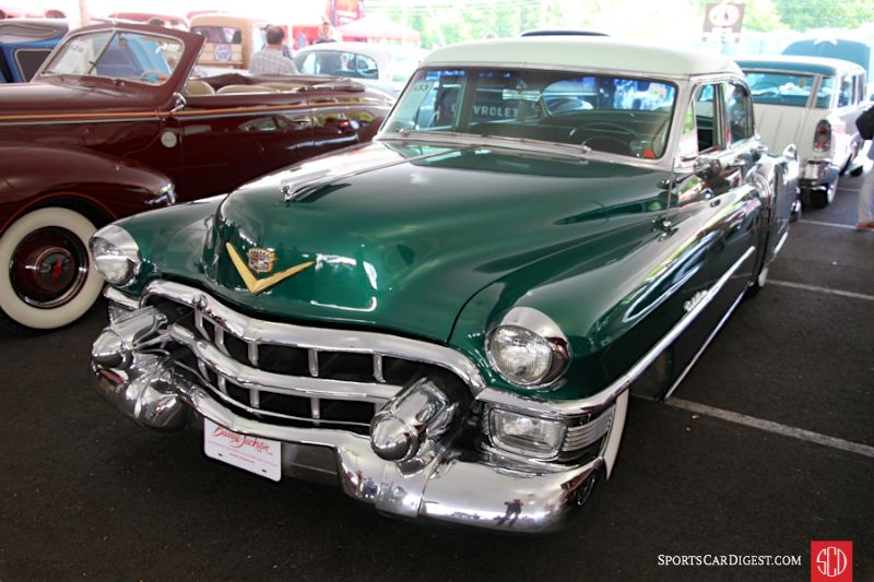 Barrett jackson northeast 2016 mohegan sun auction report for 1953 cadillac 4 door sedan