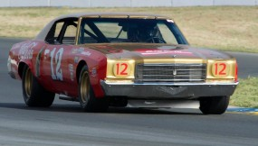 1971 Chevrolet Monte Carlo driven by Randy Peterson