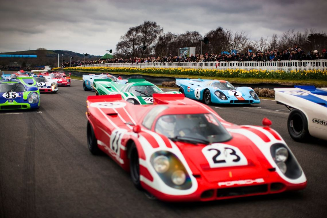 So many recognizable liveries in the Group 5 Sports Cars class (Photo: Drew Gibson)