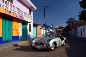 Another view of the Mercedes-Benz 300 SL W194, winner of the 1952 Carrera Panamericana.