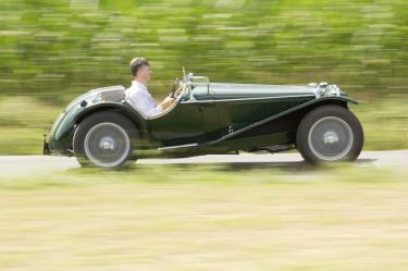 1935 Riley MPH Two-Seater Sports (photo: Pawel Litwinski)