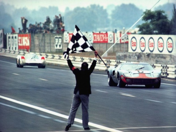 Finish at the 1969 Le Mans 24 Hours - credit: Rolex / KPMS