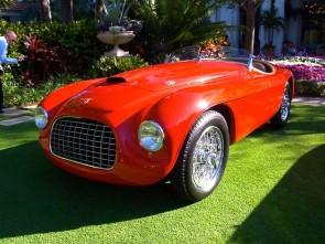Ferrari Barchetta at Cavallino Classic