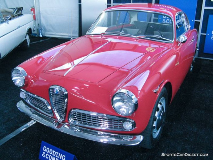 1961 Alfa Romeo Giulietta Sprint Coupe, Body by Bertone