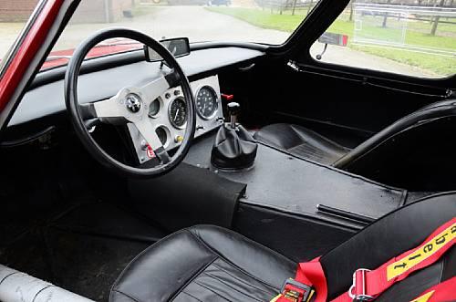 Alfa Romeo Giulia TZ Prototipo Berlinetta Interior