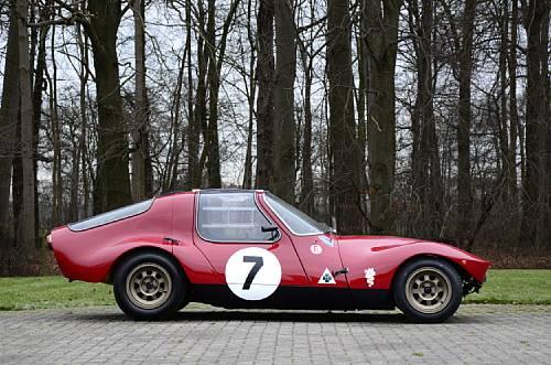 Alfa Romeo Giulia TZ Prototipo Berlinetta Side