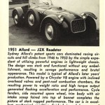 Allard J2X Roadster – Classic Cars for Sale