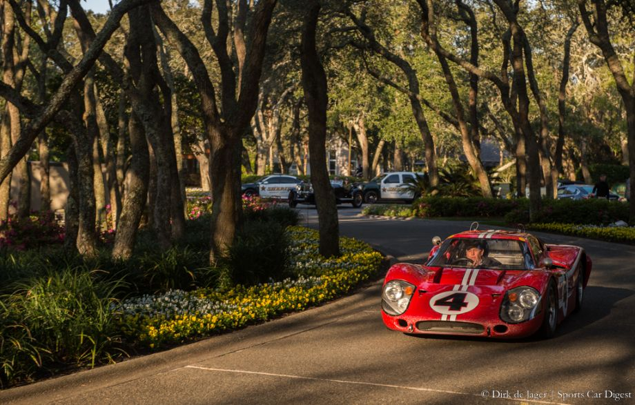 1967 Ford GT40 Mk IV, Chassis J-11