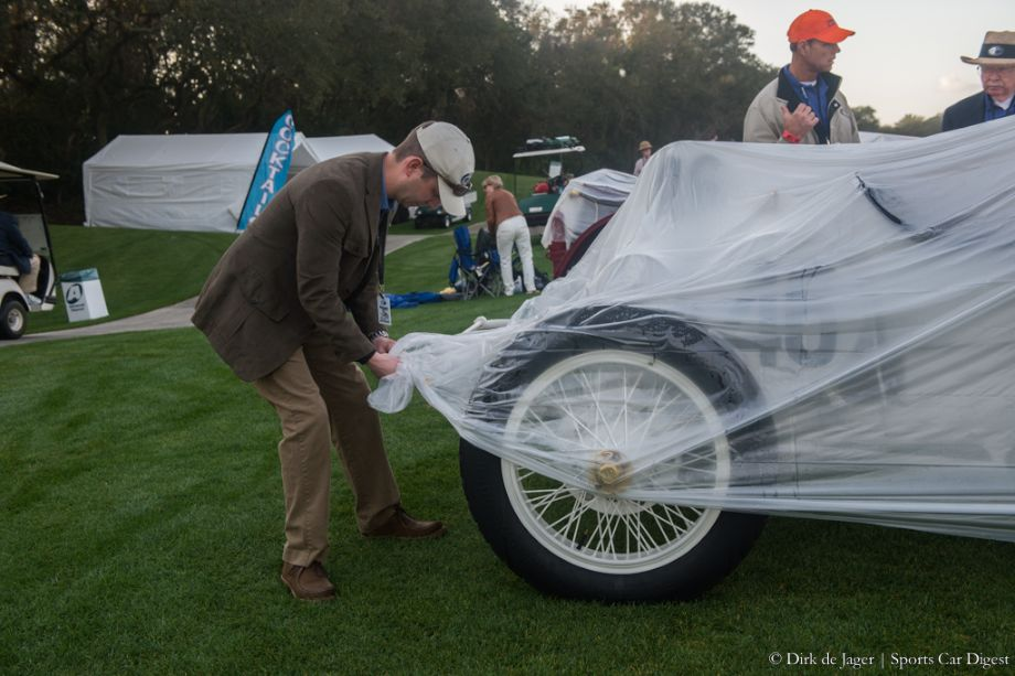 Unpacking the 1908 Benz Prinz Heinrich