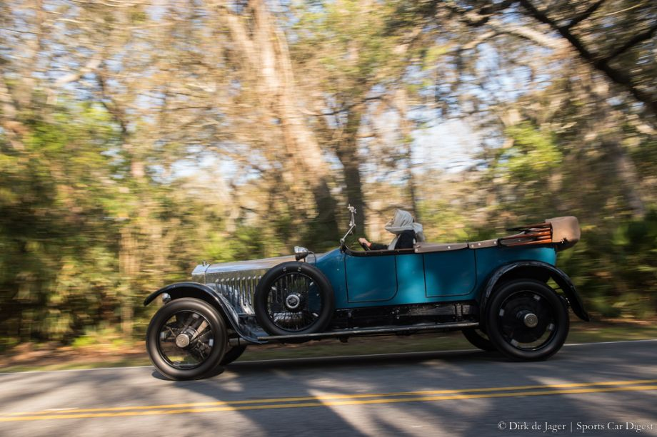 1926 Rolls-Royce Silver Ghost Pall Mall Tourer