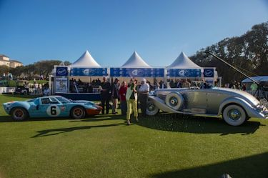 Best of Shows: 1968 Ford GT40 and 1936 Duesenberg SJN (photo: Dirk de Jager)