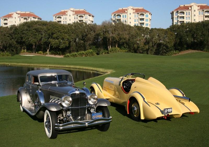 Amelia Island Concours DElegance Best Of Show Winners - Amelia island car show