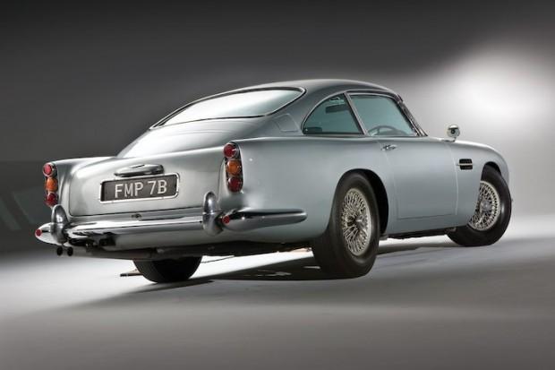 Aston Martin DB5 James Bond Movie Car - FMP 7B