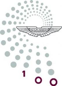 Aston Martin 100 Years Logo