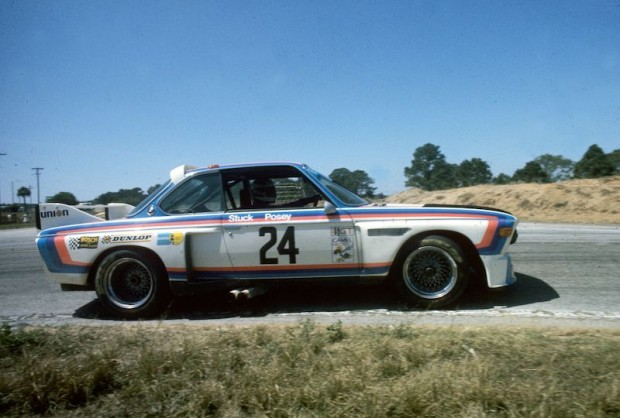 Sam Posey and Hans Stuck - BMW 3.0 CSL