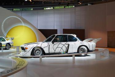BMW 3.0 CSL Art Car by Frank Stella