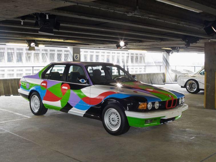 Cesar Manrique BMW 730i, 1990