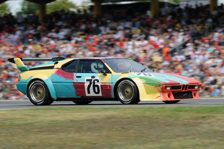 Famous Andy Wharhol BMW M1 Procar 'Art Car'