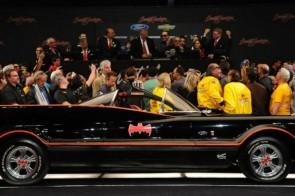 Batmobile at Barrett-Jackson